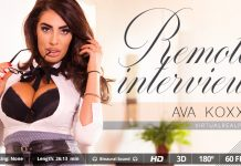 Horny Big Tits Ava Koxxx VR Sex Interview