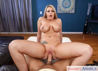 Brooklyn Chase Riding Cock VR Sex